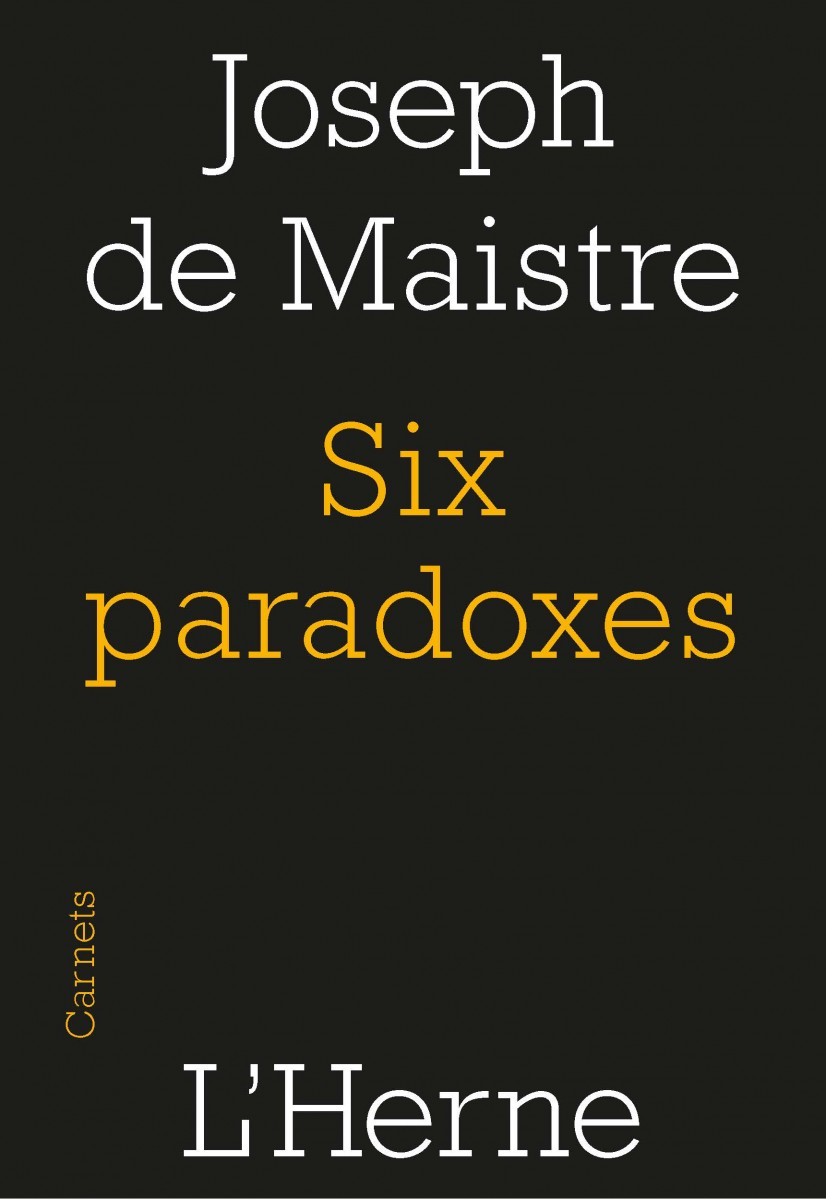Six paradoxes