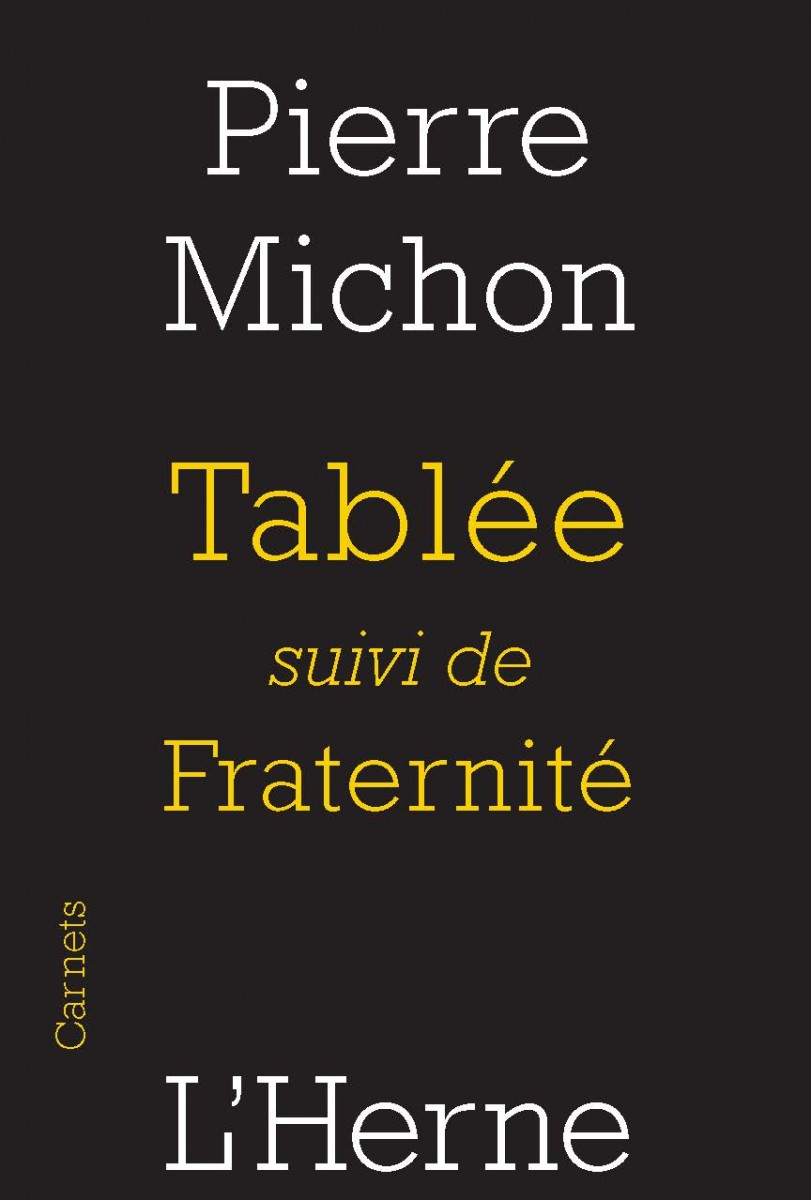 Tablée PIerre Michon