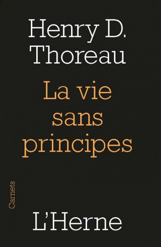 Thoreau_LaVieSansPrincipes_Couv
